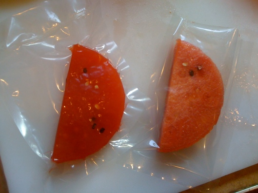 Vacuum Sealed Watermelon