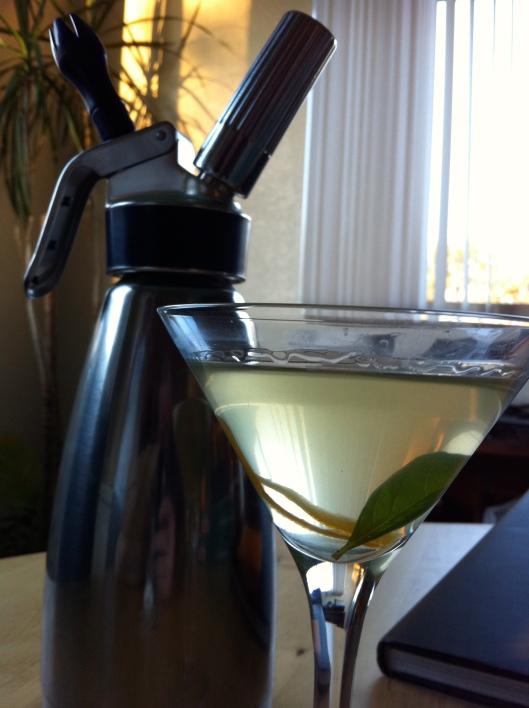 Instant Basil Vodka