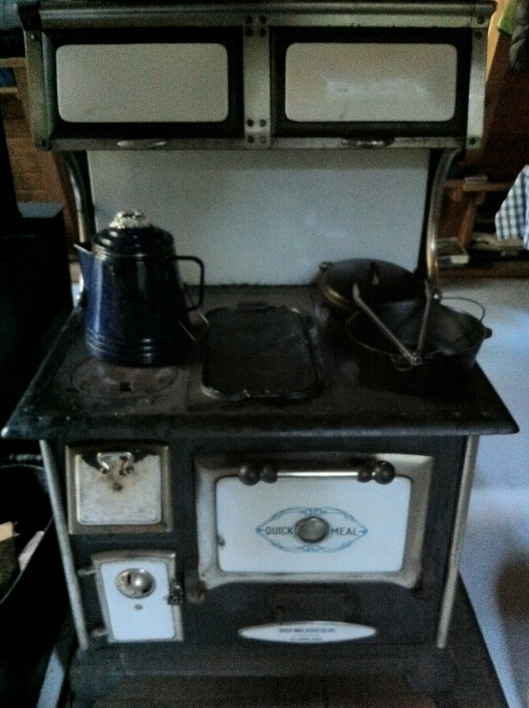 Quick Meal Antique Stove