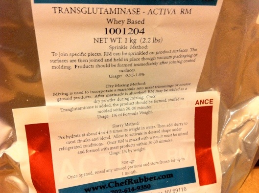 Bag of Transglutaminase