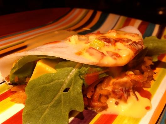 Savory Shrimp Crepe