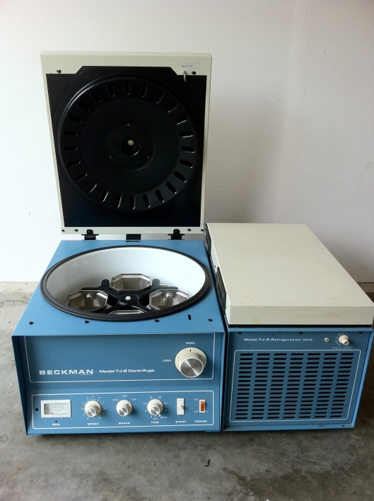 The Beckman TJ-6 Centrifuge