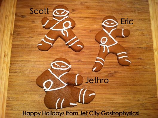 Happy Holidays from Jet City Gastrophysics