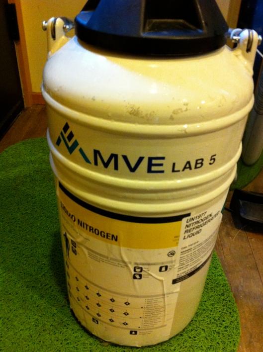 MVE Lab 5 Dewar