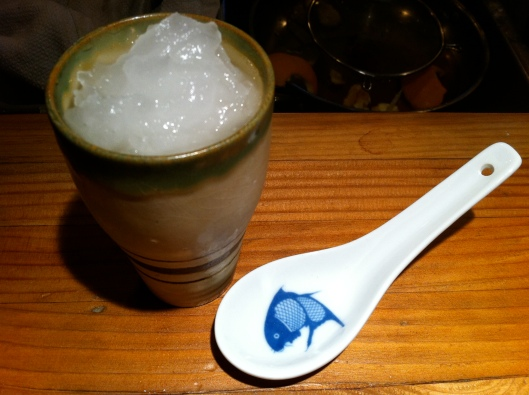 Sake Sorbet