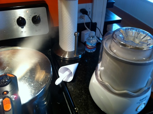 Pressure Cooker and Ice Cream
