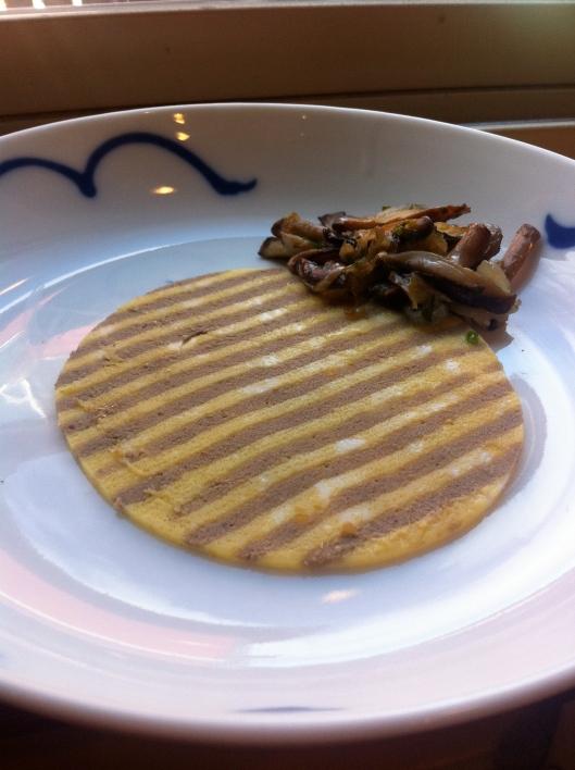 The Modernist Cuisine Striped Omelet