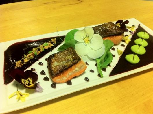 Copper Salmon Dish