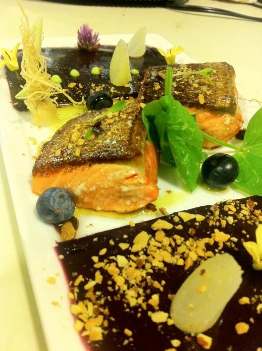 Seared Copper Salmon