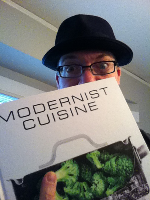 Holding The Big Bad Book of Gastronomy