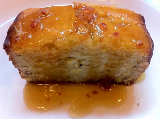 Corn Bread with Bacon Jam