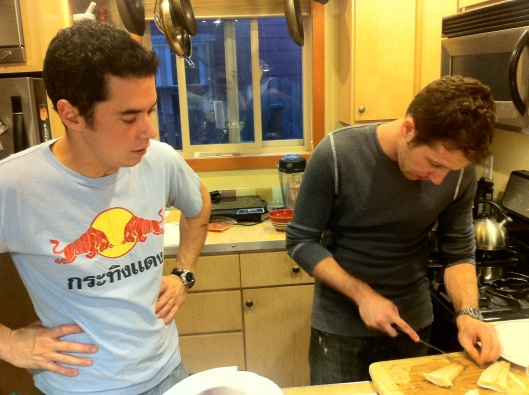 Let's Get Cooking: Eric and Matt Prepare The Meal