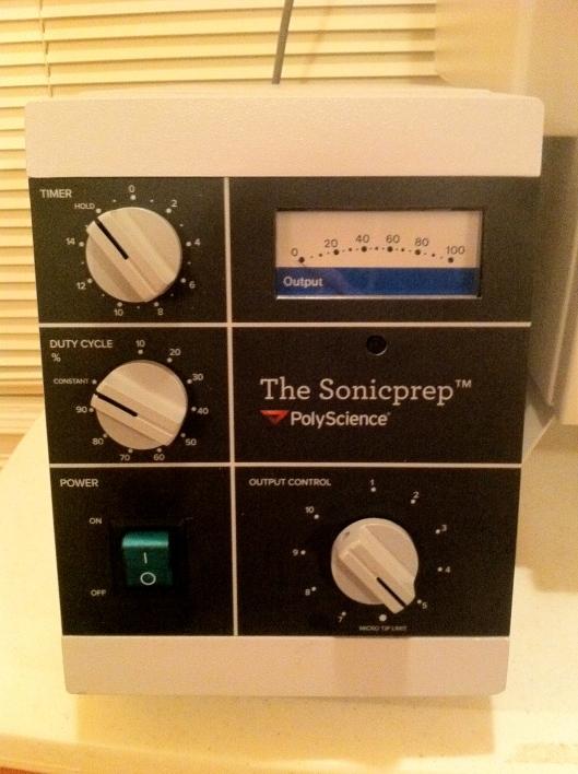 SonicPrep Electronic Generator