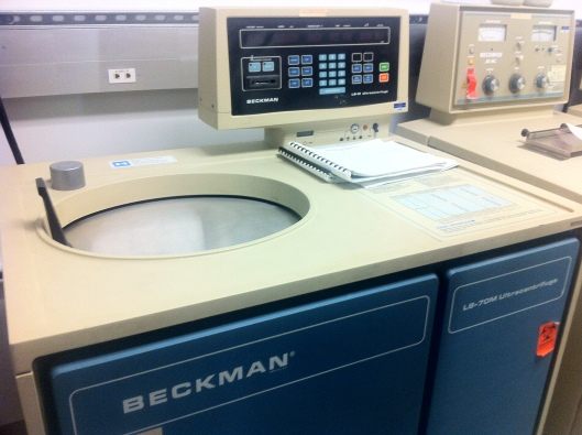 The Beckman Ultracentrifuge
