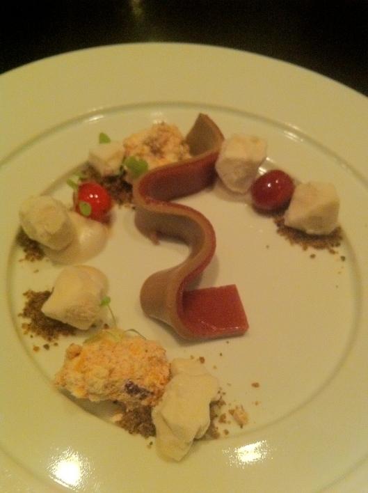 Acorn-Cranberry Custard
