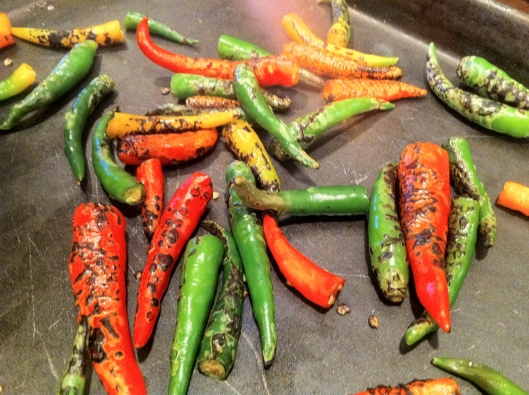 Roasted Thai Chili Peppers