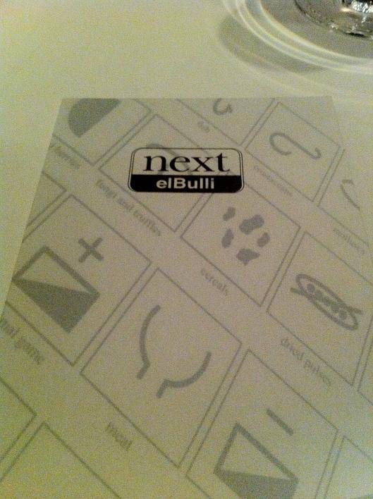 Next:elBulli