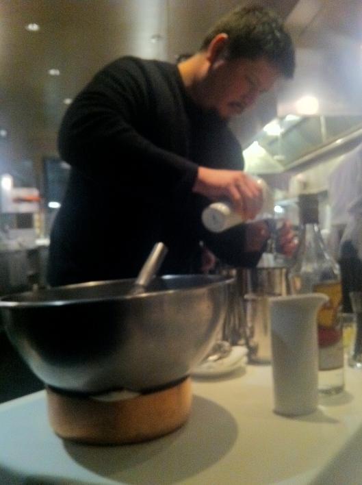 Jason Mixes A Caipirinha