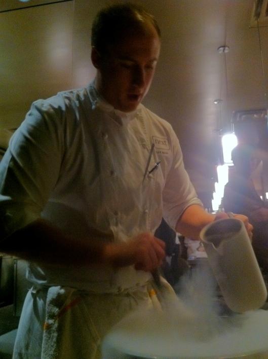 Chef Beran Freezes A Caipirinha