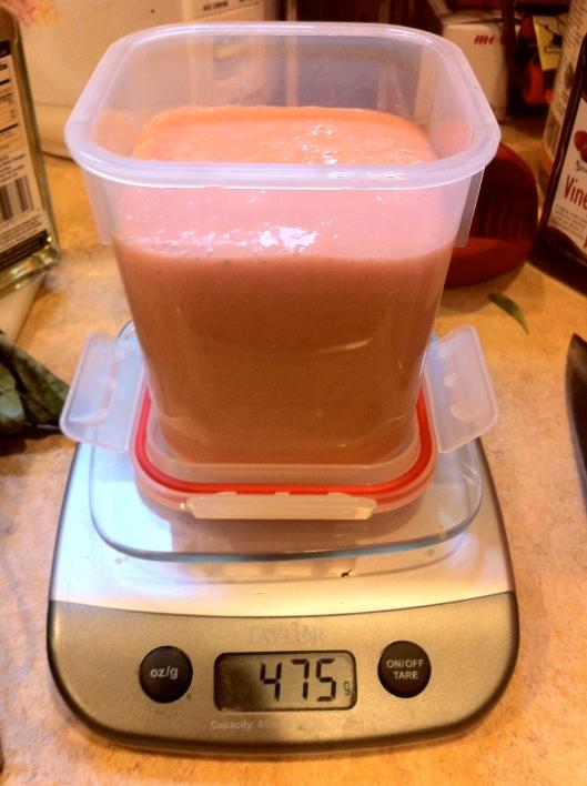Measuring Tomato Pulp