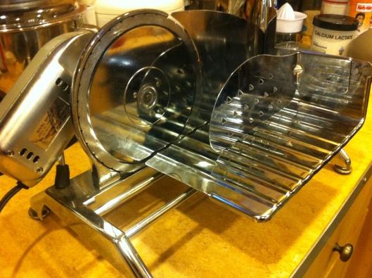 Hot Rod Meat Slicer