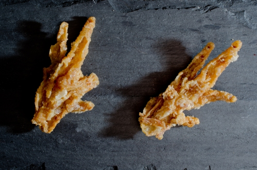 Chicken Feet, Puffed