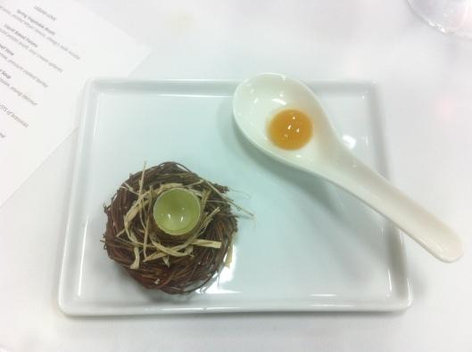 Raw Quail Egg