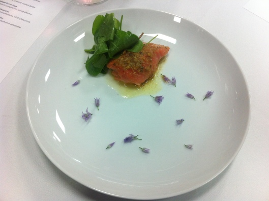 King Salmon, Hazelhut And Sorrel