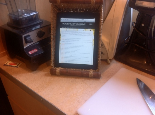 iPad In The Kitchen