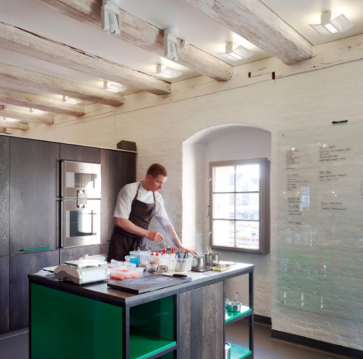 Cooking At Nordic Food Lab