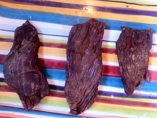 Fully Microwaved Beef Jerky