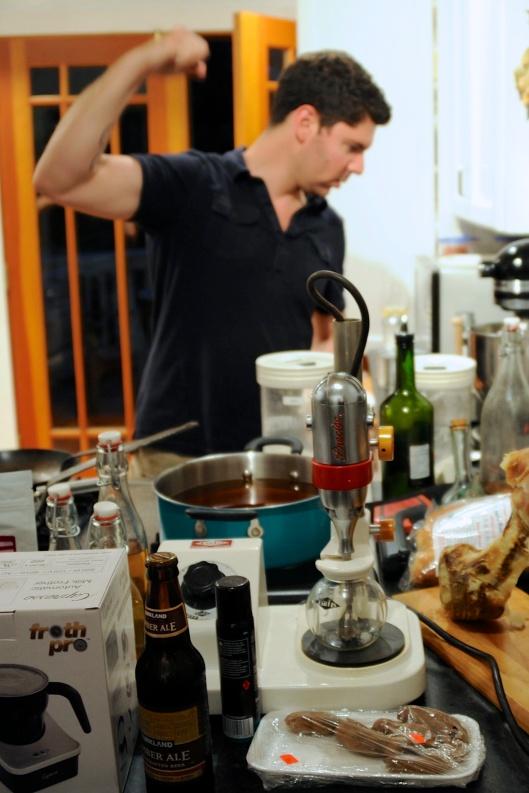 Scott In The Kitchen, Power Cookin'