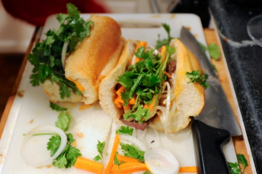 Chicken Liver Banh Mi