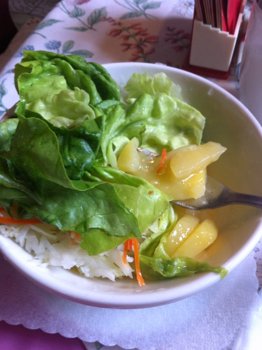 Salad.  With Potatoes.