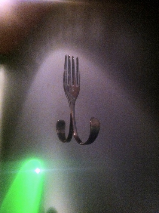 Fork as Coat Hanger