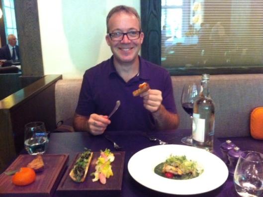 Jethro Having Lunch At Dinner
