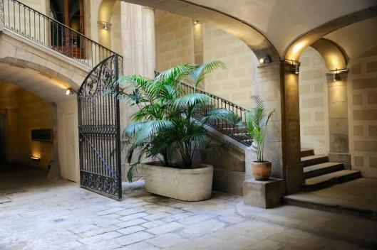 Lobby of the building of the elBulli Taller