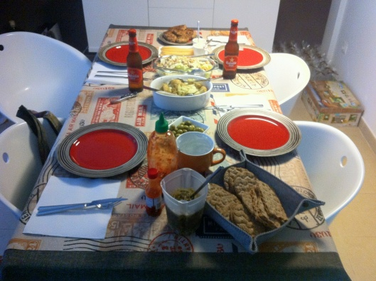 Home Cooked Catalonian Meal