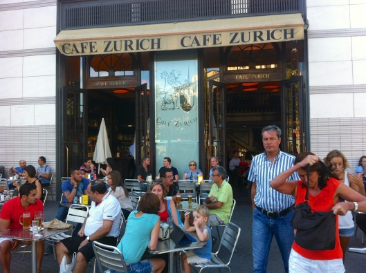 Cafe Zurich in Barcelona