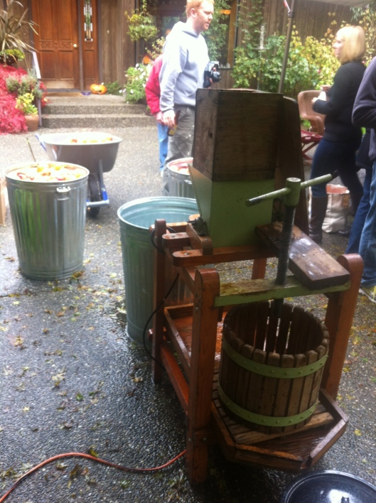 Hand Cranked Apple Press