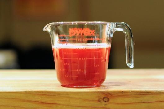 Sous Vide Berry Juice