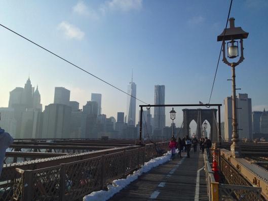 NYC Via The Brooklyn Bridge